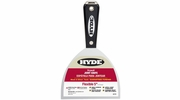 """Hyde 02770  Black & Silver 5"""" Flexible Professional Joint Knife with Hammer Head End"""