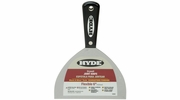 """Hyde 02850  Black & Silver 6"""" Flexible Professional Joint Knife"""