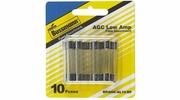 "Bussmann BP/AGC-AL10-RP  AGC 1/4"" x 1-1/4"" Fast-Acting Glass Tube Fuse 10 Fuse Low Amp Assortment"
