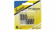 "Bussmann BP/AGA-AH8-RP  AGA 1/4"" x 5/8"" Fast-Acting Glass Tube Fuse 8 Fuse High Amp Assortment (10 to 30 Amp)"