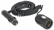 Bell Automotive 39003  10-Foot 12-Volt Accessory - Lighter Plug Coiled Extension Cord