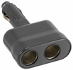 Bell Automotive 39010  Double Socket 12-Volt Accessory - Lighter Plug Direct Adapter - Black