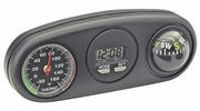 Bell Automotive 34204  Combo Clock, Compass & Thermometer
