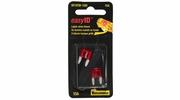 Bussmann BP/ATM-10ID  Red ATM 10 Amp easyId Illuminating Fast-Acting Automotive Mini Blade Fuses - 2 per Card