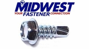 Midwest Fastener Hex Washer Head Self-Drilling Screws