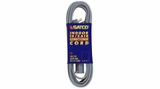 Satco 93-5001  6-ft Gray Air Conditioner / Appliance Extension Cord (14/3 SPT-3)