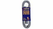 Satco 93-5004  15-ft Gray Air Conditioner / Appliance Extension Cord (14/3 SPT-3)