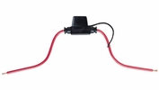Bussmann BP/HHM-RP  In-Line ATM Mini Blade Fuse Holder with Cover (30 Amp Max)