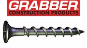 Grabber Drywall Screws Coarse Thread with Gray Phosphate