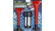 Wolo 400  AirMite2 Dual Tone Air Horn Kit with Compressor