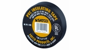 "Satco 90-1420  3/4"" x 60' Black PVC Electrical Tape"