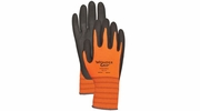 Wonder Grip WG510HV  Extra-Tough High Visibility Nitrile Palm Gloves - Large
