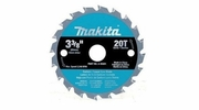 "Makita A-95021  3-3/8""  20T Carbide Cirular Saw Blade"