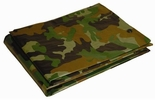 Dry Top 8X10CAMO  All Purpose Green Camouflage Tarp 8' x 10' 5 Mil (408102)