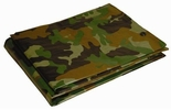 Dry Top 12X16CAMO  All Purpose Green Camouflage Tarp 12' x 16' 5 Mil (412161)
