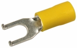 Pico 1934A  12-10 AWG(Yellow)  Flared Vinyl Insulated Electrical Wiring #8 Flanged Spade Terminals 500 Per Package