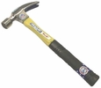 """Vaughan & Bushnell 124-10  16-oz Smooth Face """"999"""" Straight Claw Ripping Hammerwith 13"""" Straight Fiberglass Handle (FS99)"""