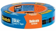 """3M 2080-1A  1"""" x 60-yd Scotch-Blue Safe-Release Painters Tape for Delicate Surfaces"""