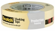 """3M 2020-36A  1-1/2"""" x 60-yd Scotch General Purpose and Production Painting Masking Tape"""