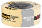 """3M 2020-48A  2"""" x 60-yd Scotch General Purpose and Production Painting Masking Tape"""