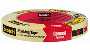"""3M 2050-18A  3/4"""" x 60-yd Scotch Masking Tape for General Painting"""