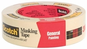 """3M 2050-36A  1-1/2"""" x 60-yd Scotch Masking Tape for General Painting"""