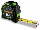 """Komelon 7125  25' x 1"""" Monster MagGrip Rubberized Case, Magnetic Tip Tape Measure"""