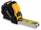 """Komelon 7425  25' x 1"""" MagGrip Rubber Jacketed Case, Magnetic Tip Tape Measure"""