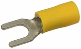 Pico 1924A  12-10 AWG(Yellow)  Flared Vinyl Insulated Electrical Wiring #8 Spade Terminals 500 Per Package