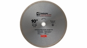 """MK Diamond 167031  10"""" x 5/8"""" Contractor Quality Wet Cutting Continuous Rim Diamond Blade for Tile / Marble"""