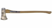 "Vaughan & Bushnell 301-01  3-1/2-lb Sub-Zero Single Bit Michigan Pattern Axe with 36"" Hickory Handle (ZSB31/2)"