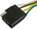 """Pico 0714PT  4-Way Female Trailer Electrical Connector 6"""" Lead"""