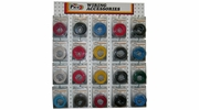 """Pico 0007-WPT Assorted Primary Wire """"PT"""" Packs with Wall Mount Display"""