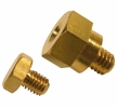 "Pico 0854A  3/8"" Side Mount Battery Brass Bolt Extender w/5/16"" Accessory Bolt 25 per Package"