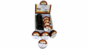 "Pico 3460C  3/4"" x 60' Black Tru-Grip All Weather Vinyl Electrical Wiring Tape 20 Rolls per Box"