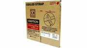 "Simpson Strong Tie CS16  16-gauge Coiled Strap 1-1/4"" x 150'"