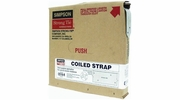 "Simpson Strong Tie CS16-R  16-gauge Coiled Strap 1-1/4"" x 25'"