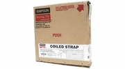 "Simpson Strong Tie CS18-R  18-gauge Coiled Strap 1-1/4"" x 25'"