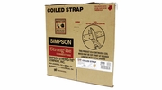 "Simpson Strong Tie CS20  20-gauge Coiled Strap 1-1/4"" x 250'"