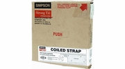 "Simpson Strong Tie CS22-R  22-gauge Coiled Strap 1-1/4"" x 25'"