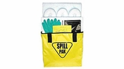 EnviroMet SP-1O  Deluxe Oil Only Spill Kit with Water-Resistant Yellow Vinyl Bag