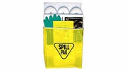 EnviroMet SP-2U  Economy Universal Spill Kit with Water-Resistant Yellow Plastic Bag