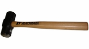 """V&B Manufacturing 59230  3-lb Steel Double Faced Sledge Hammer with 16"""" Hickory Handle (DF3XH)"""