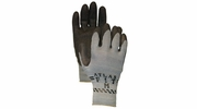 Atlas Glove 300BK Black Atlas Fit Super Grip Gloves - Medium
