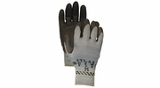 Atlas Glove 300BK Black Atlas Fit Super Grip Gloves - Large