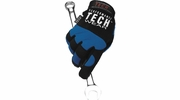 Performance Tool W89001  Mechanics Performance Tech Wear Gloves Blue - X-Large