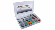 Pico 0003-D  152 Piece Deutsch Electrical Connector Kit 2, 3, 4, 6 and 8-Way Housings