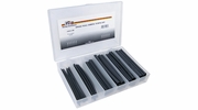 Pico 0003-SR  54 Piece Assorted Single Wall Shrink Tube Kit Black