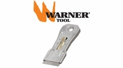 Warner Razor Scrapers and Blades