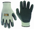 Custom Leathercraft 2034XL Thermal Lined Latex Gripper Gloves, Extra Large